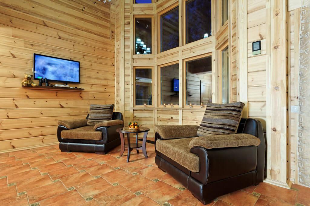 пешей внутренняя отделка дома из клееного бруса фото соседней хакасии сезон